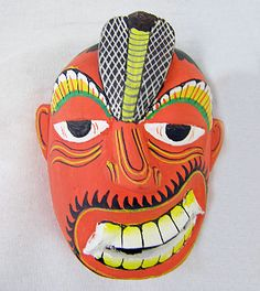 Paralysis Demon Mask-12