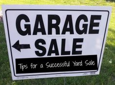 Tips for a successful #yard sale!