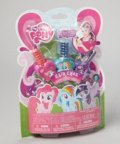 Take a look at this My Little Pony Hair Chox by My Little Pony on #zulily today!9