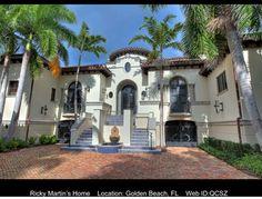Livin' la Vida Loca- Ricky Martin's place in Florida that's for sale.