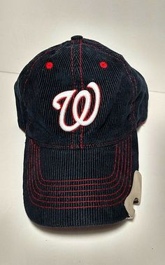 599ecafd9 Washington Nationals Miller Lite Corduroy Hat With Bottle Opener Adjustable  OSFA #MelonWear #WashingtonNationals Miller