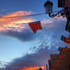 Red #sky at night sailor's delight... by jilliancyork