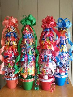 Candy trees sport theme