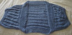 Ravelry: Project Gallery for Quicksilver Lace Shrug pattern by Kristiina V.