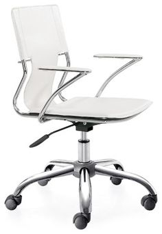Elegant Conference Office Chair By Lemoderno, White modern-office-chairs // QTY 10