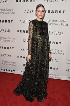 Olivia Palermo attends 'An Evening Honoring Valentino' Lincoln Center Corporate Fund Gala at Alice Tully Hall at Lincoln Center on December 7 2015 in...