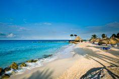 The beach at the Curacao Marriott Beach Resort.