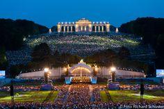 concerto di inizio d'estate dell'orchestra filarmonica di Vienna