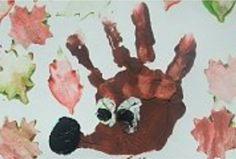Handprint Art, Art For Kids, Kindergarten, Crafty, Children, Painting, Education, Autumn, Ideas