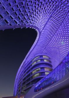The Yas Hotel Interiors in Abu Dhabi by by Jestico + Whiles#Repin By:Pinterest++ for iPad#