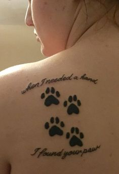 ▷ 1001 + Ideas for cat tattoo from which you could draw inspiration - Hundepfoten - gatte Trendy Tattoos, Cute Tattoos, Small Tattoos, Cat Paw Tattoos, Animal Tattoos, Cat Paw Print Tattoo, Dog Pawprint Tattoo, Horse Tattoos, Cat Tat
