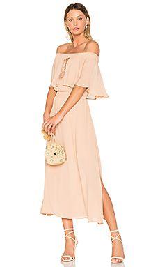 Touch the Sun Midi Dress