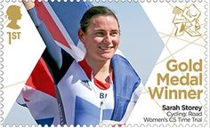 Large image of the ParalympicsGB Gold Medal Winner Miniature Sheet - Sarah Storey Gold Medal Winners, Gold Adidas, Asian Games, Commonwealth Games, Team Gb, Royal Mail, Summer Olympics, Famous Women, Stamp Collecting