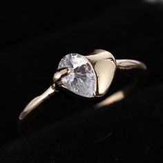 New Items: Gold Filled Sapph...  Buy it here now: http://www.synonyco.com/products/gold-filled-sapphire-heart-ring?utm_campaign=social_autopilot&utm_source=pin&utm_medium=pin