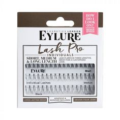 Eylure Lashes Individual Black / Dis-Chem - Pharmacists who care Almay Eyeshadow, Maybelline Fit Me Concealer, Eylure Lashes, Cherry Crush, Almay Smart Shade, Iced Mocha, Individual Lashes, Makeup Shop, Beauty Shop