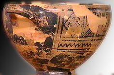 Coppa di Nestore  « Io sono la bella coppa di Nestore, chi berrà da questa coppa subito lo prenderà il desiderio di Afrodite dalla bella corona »