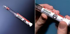 Disposable prefilled insulin injector   IDEO