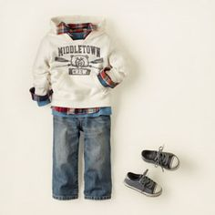 Cute little boy outfit!