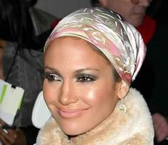 jlo scarves   The Change of Season: Handkerchiefs and Scarves