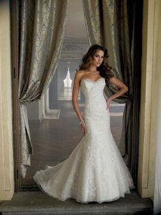 David Tutera for Mon Cheri – Wedding Dresses 2014