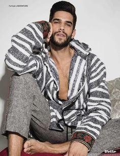 Male Fashion Trends: Landon Falgoust posa para Henry Wu en el nuevo número de Bello Magazine