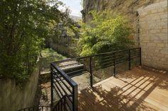Réaménagement d'une maison d'habitation : terrasse