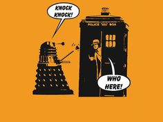 Dr Who exterminates another Knock Knock Joke! T-Shirt