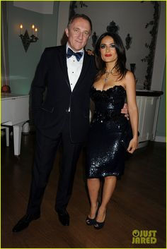 LOVE Salma Hayek's dress