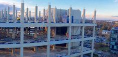 Capella update 13 – final precast concrete columns installed