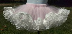 Check out this item in my Etsy shop https://www.etsy.com/listing/524653318/tutu-skirt-trimmed-with-white-lace