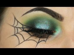 Spider Web Eyeliner Tutorial - YouTube