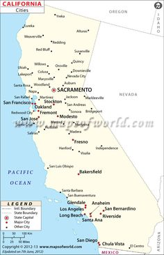 California Map City.Map Of Southern California Cities California Maps California