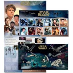Happy/Sam - STAR WARS™ Presentation Pack at Royal Mail Shop