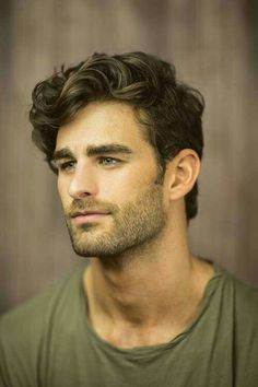 Casual Wavy Short Cut Hairstyle For Men