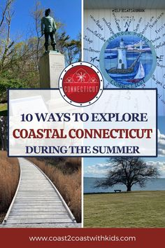 From art museums and sculpture gardens to beaches and historical parks, coastal Connecticut has tons of family friendly activities! Family Vacations, Family Travel, Road Trip Across America, Destin Beach, United States Travel, Family Adventure, City Guides, Amazing Adventures, Summer Travel