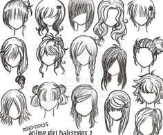 Easy to Draw Emo Hair | 12how-to-draw-anime-girl-hairstyles_1.jpg