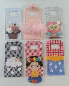 Suporte/Porta Carregador de Celular Dia das Mães Mãe Coruja – Corujinha Mã… Cell Phone Holder / Holder Mother's Day Mother Owl – Little Owl Mother Flower of My Garden – Flower Pot Mother Queen – Tulle Skirt and Crown Mother… Sigue leyendo → Diy Crafts To Sell, Crafts For Kids, Arts And Crafts, Small Sewing Projects, Sewing Crafts, Recharge Telephone, Pochette Portable, Creation Couture, Recycled Crafts