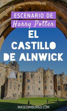 Descubre el castillo de Alnwick, en el norte de Inglaterra, que hizo de Hogwarts en las películas de #HarryPotter. Downton Abbey, Auckland, Scotland, Places To Visit, Landscape, Hogwarts, Trips, Bucket, Travel