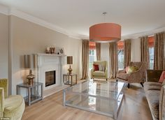 Tennis coach Judy Murray, 57, has put her luxury mansion in the Bridge of Allan, in Stirlingshire, on the market for offers over £825,000, and said 'family logistics' played a part in her decision.