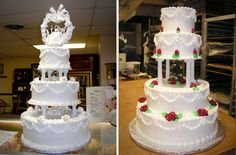 New Wedding Cakes Traditional Pillars Ideas Extravagant Wedding Cakes, Elegant Wedding Cakes, Beautiful Wedding Cakes, Wedding Cake Designs, Wedding Ideas, Wedding Cookies, Wedding Cupcakes, Cake Pillars, Cake Pedestal
