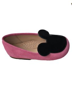 b44f4f8ec67b4 Adorable Miss Minnie Mouse shoes - with suede upper