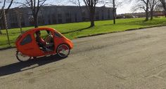 PEBL: Fully Enclosed, Hemp Based Pedal Electric Vehicle