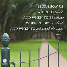 Jesus show us
