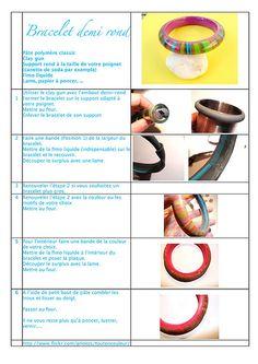 Tuto bracelet - A utiliser sans modération... | Flickr - Photo Sharing!
