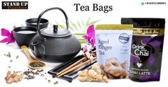 There are many types of #tea, and different tea needs different #moisture and #oxygenbarriers. #StandUpPouches manufactures various types of bags suitable for #teapackaging.