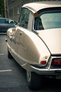 Citroen DS.  favorite car since childhood, when i got the matchbox car of it.