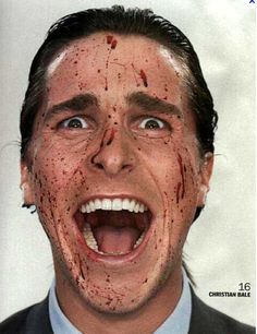 american psycho ... on the tip top of the list