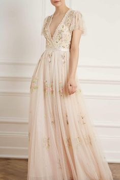 New Season Petunia Cap Sleeve Gown in Meadow Pink. Shop the new collection. Best Wedding Dresses, Prom Dresses, Elf Wedding Dress, Flowery Wedding Dress, Bridal Dresses, Lace Wedding, Vintage Formal Dresses, Vintage Inspired Wedding Dresses, Flapper Dresses