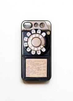 Vitryn - Etsy - Payphone iphone 4 Case