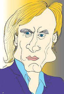 CARICATURAS DELBOY: GERARD DEPARDIEU